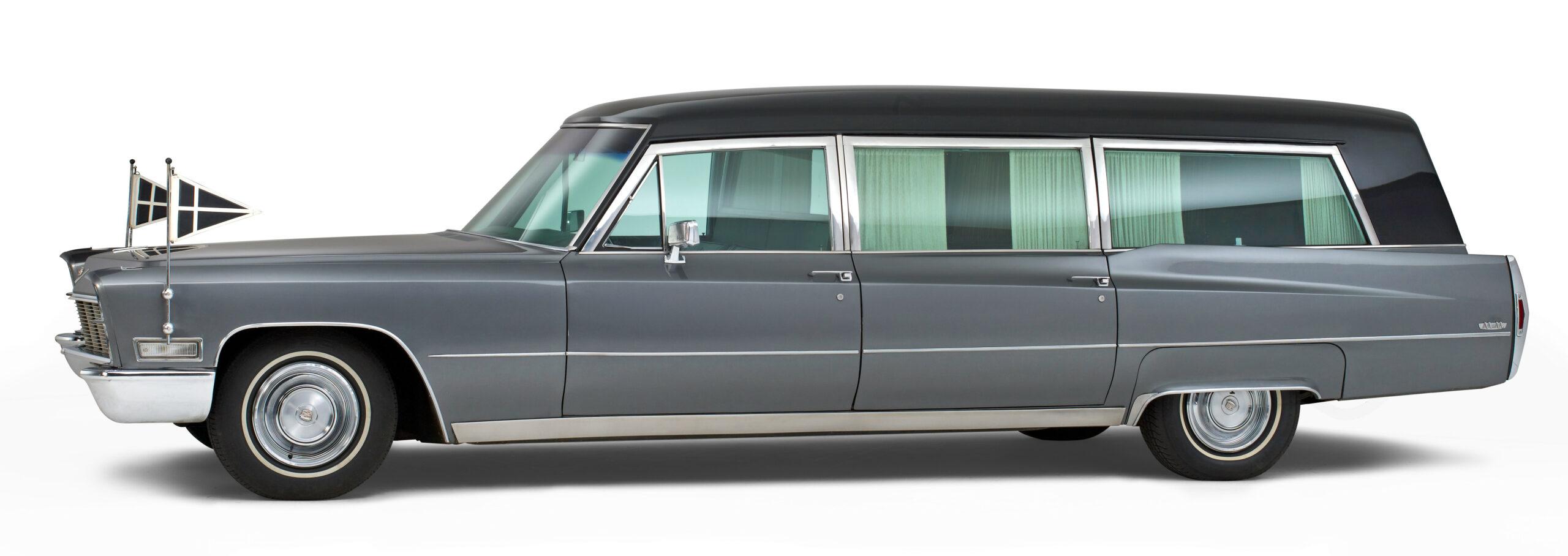 Cadillac oldtimer klassieke rouwauto