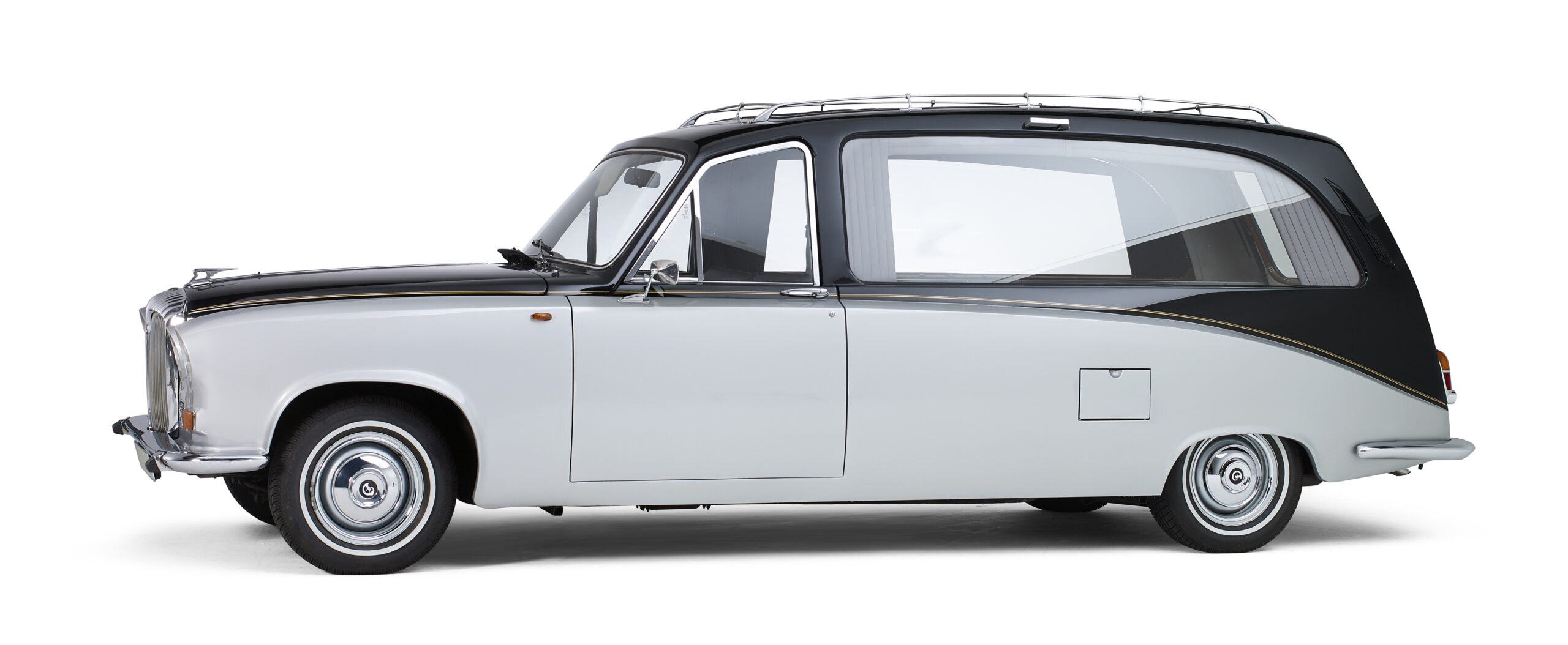 Daimler klassieke oldtimer rouwauto