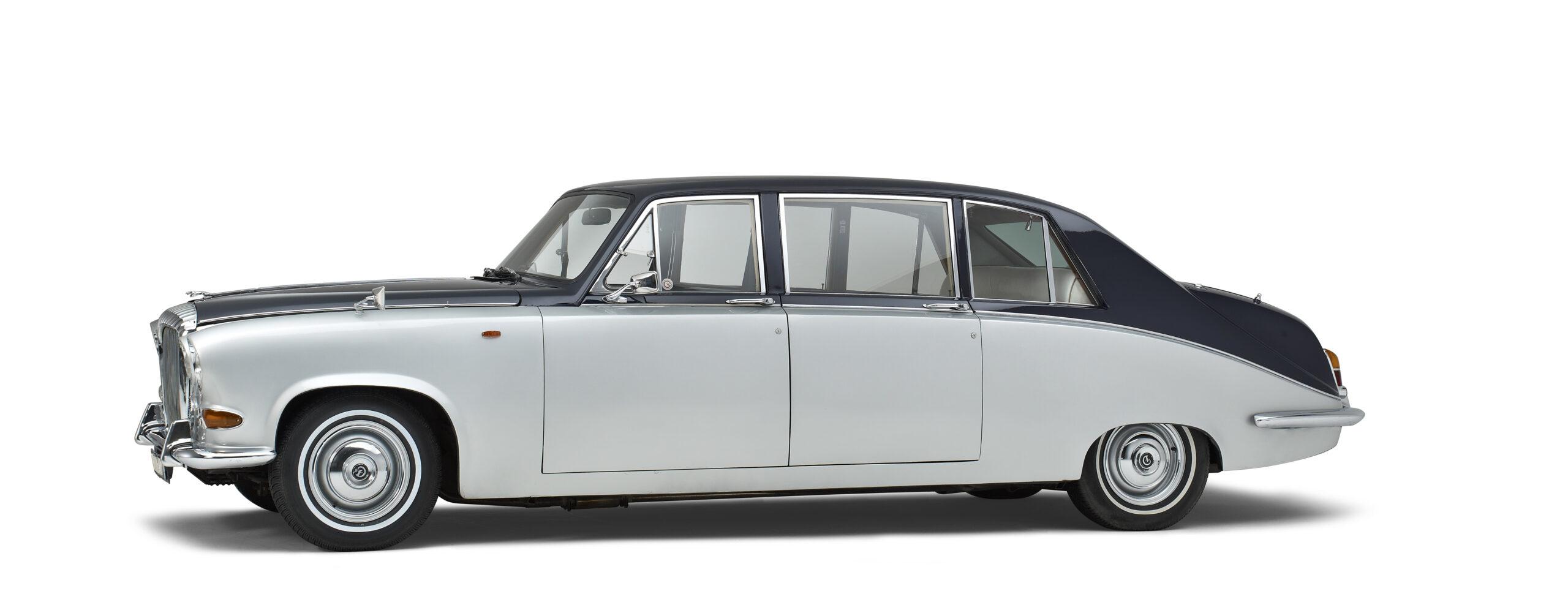 Daimler klassieke oldtimer volgauto
