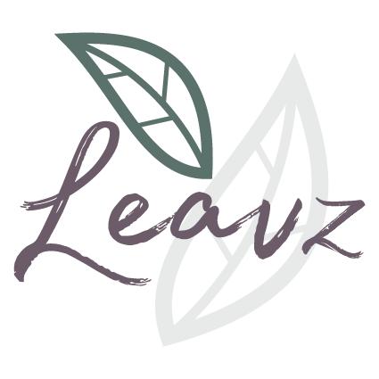 leavz rouwdrukwerk logo